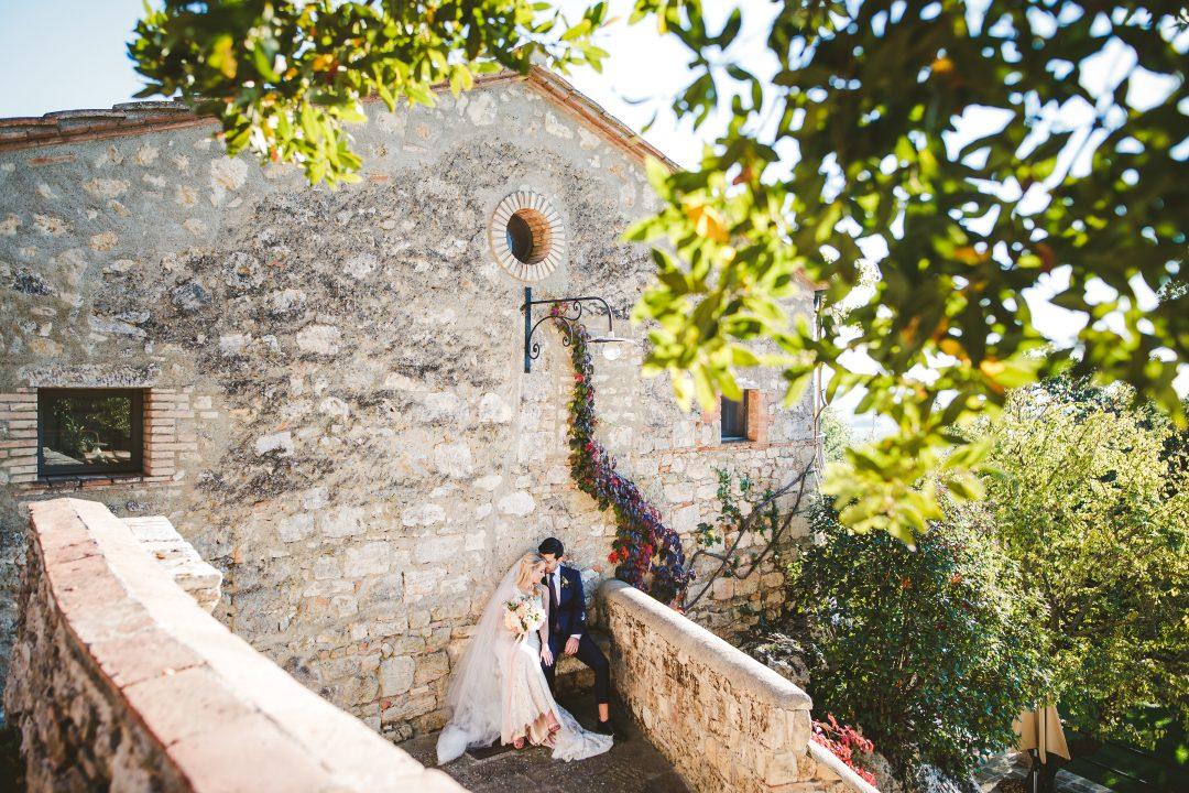 Elopement in Tuscany – Borgo Pignano
