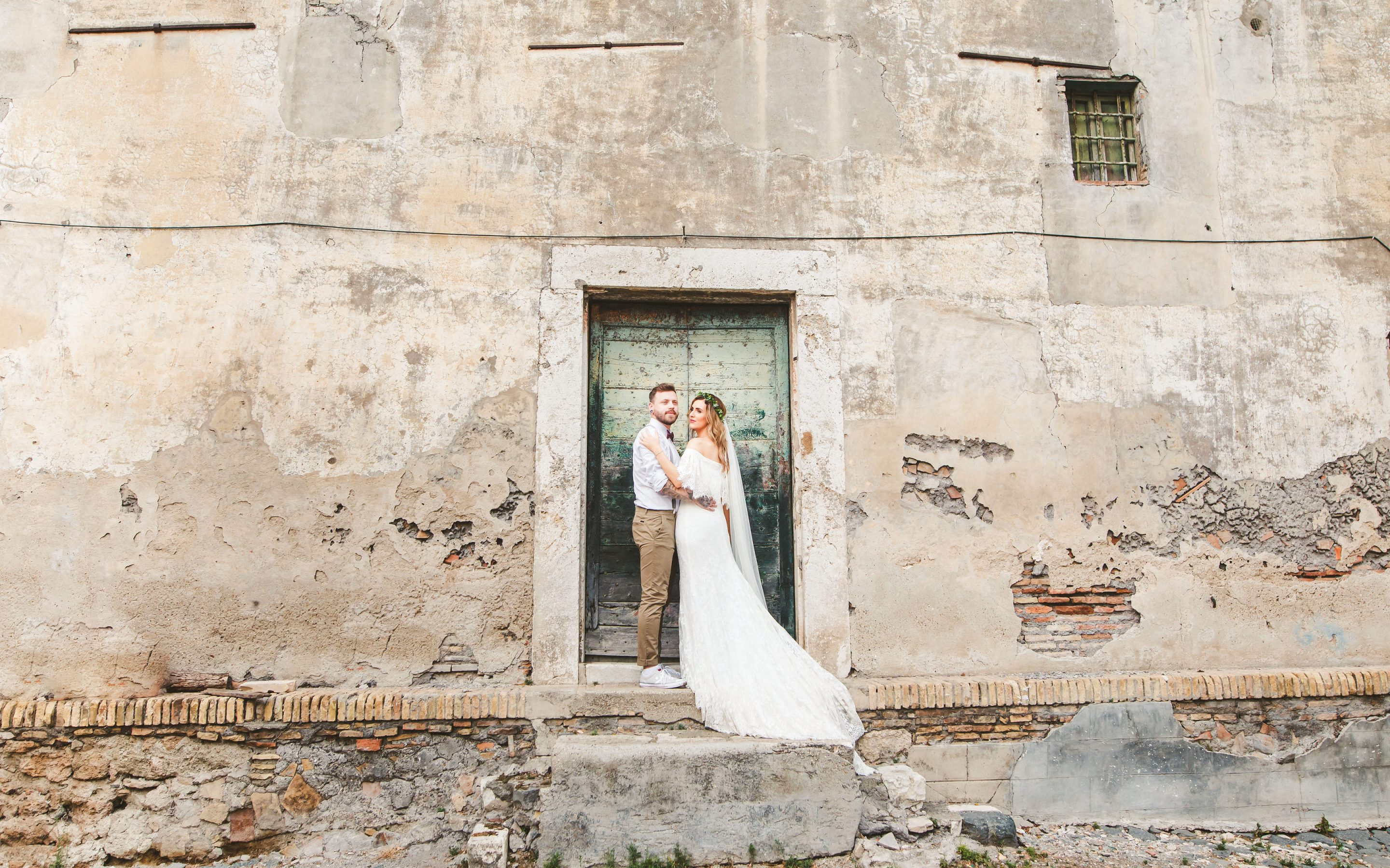 Boho wedding at Casale Doria Pamphilj