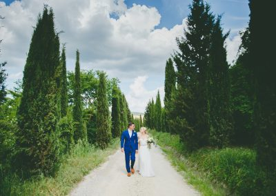 Intimate wedding in Tuscany – The Lazy Olive
