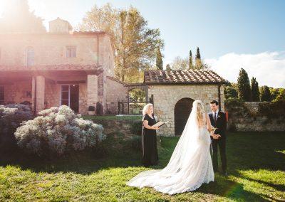 ceremony borgo pignano