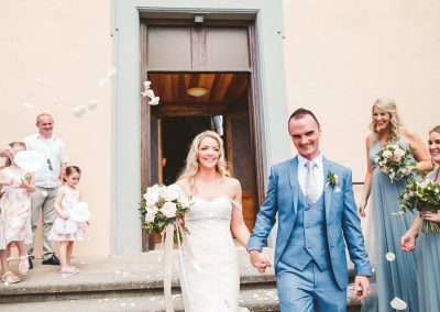 Romantic wedding at Borgo di Tragliata