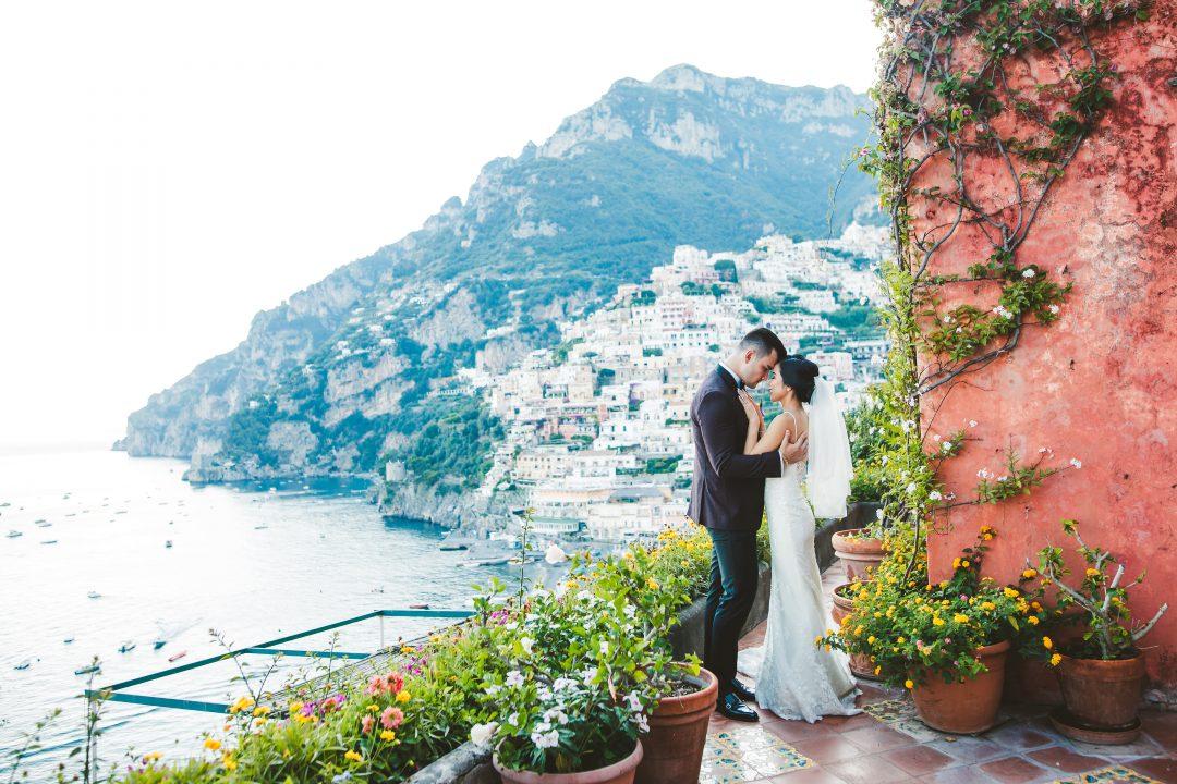 Tea ceremony & destination wedding at Positano
