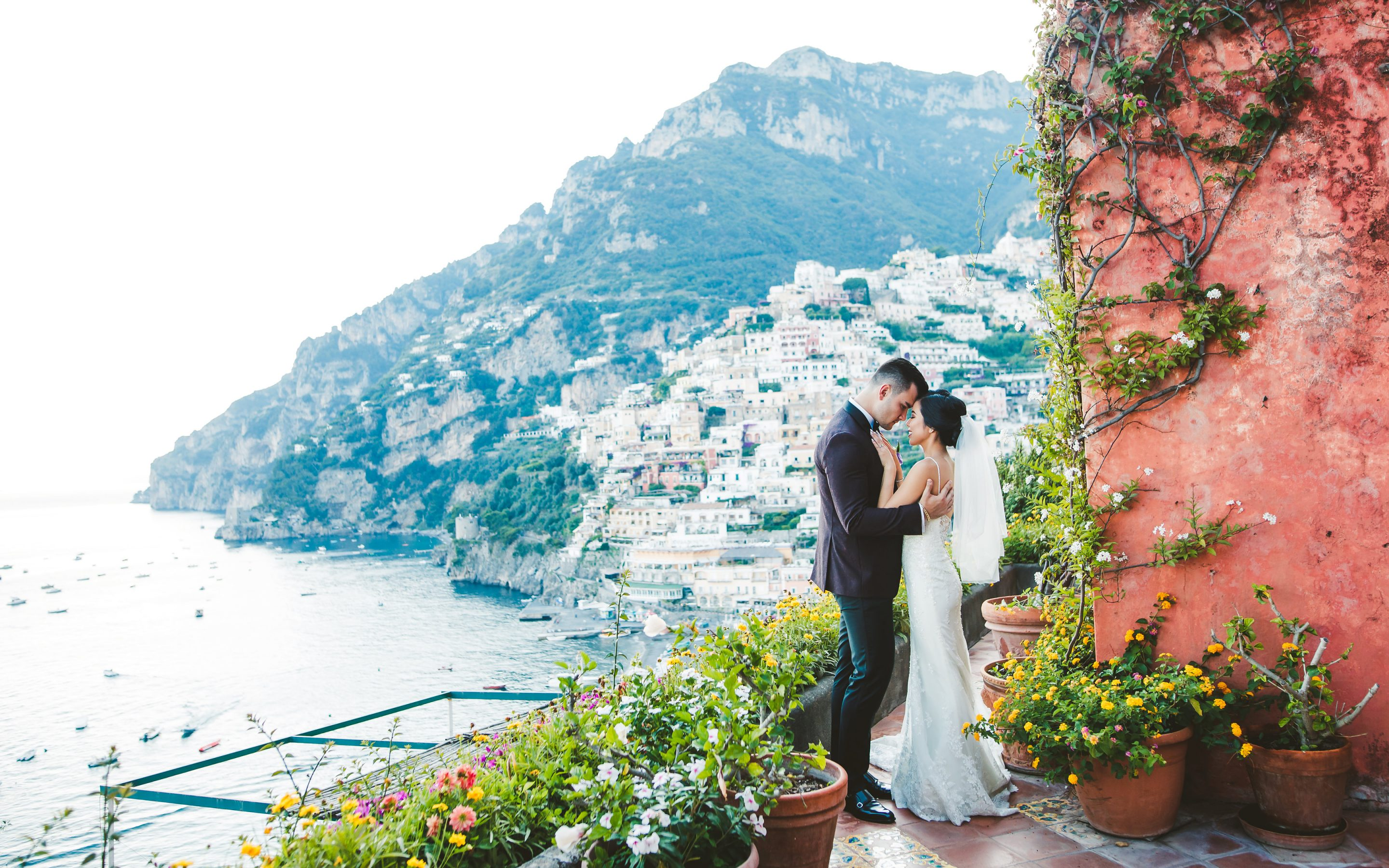 Tea ceremony & destination wedding at Positano