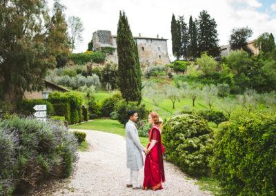 Hindu ceremony, indian wedding Borgo di Tragliata
