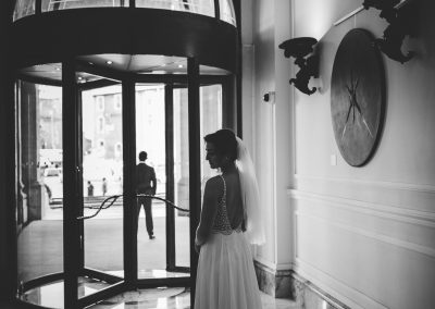 Rome elopement wedding Villa Borghese