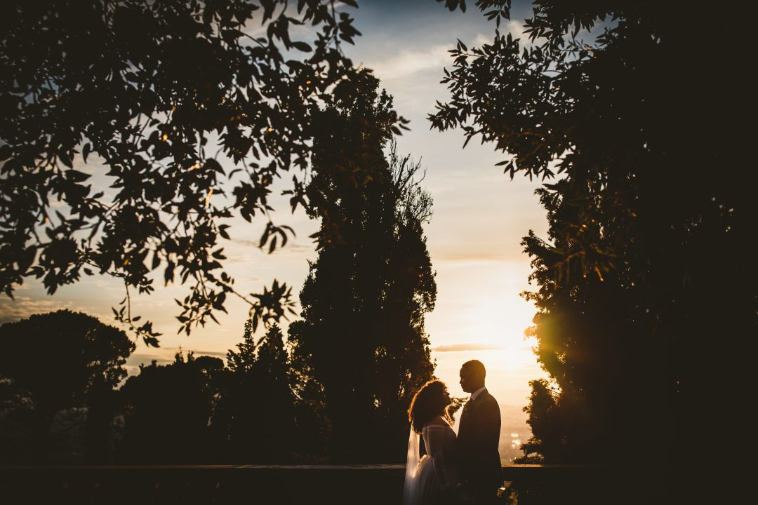 Autumn elopement in Tuscany