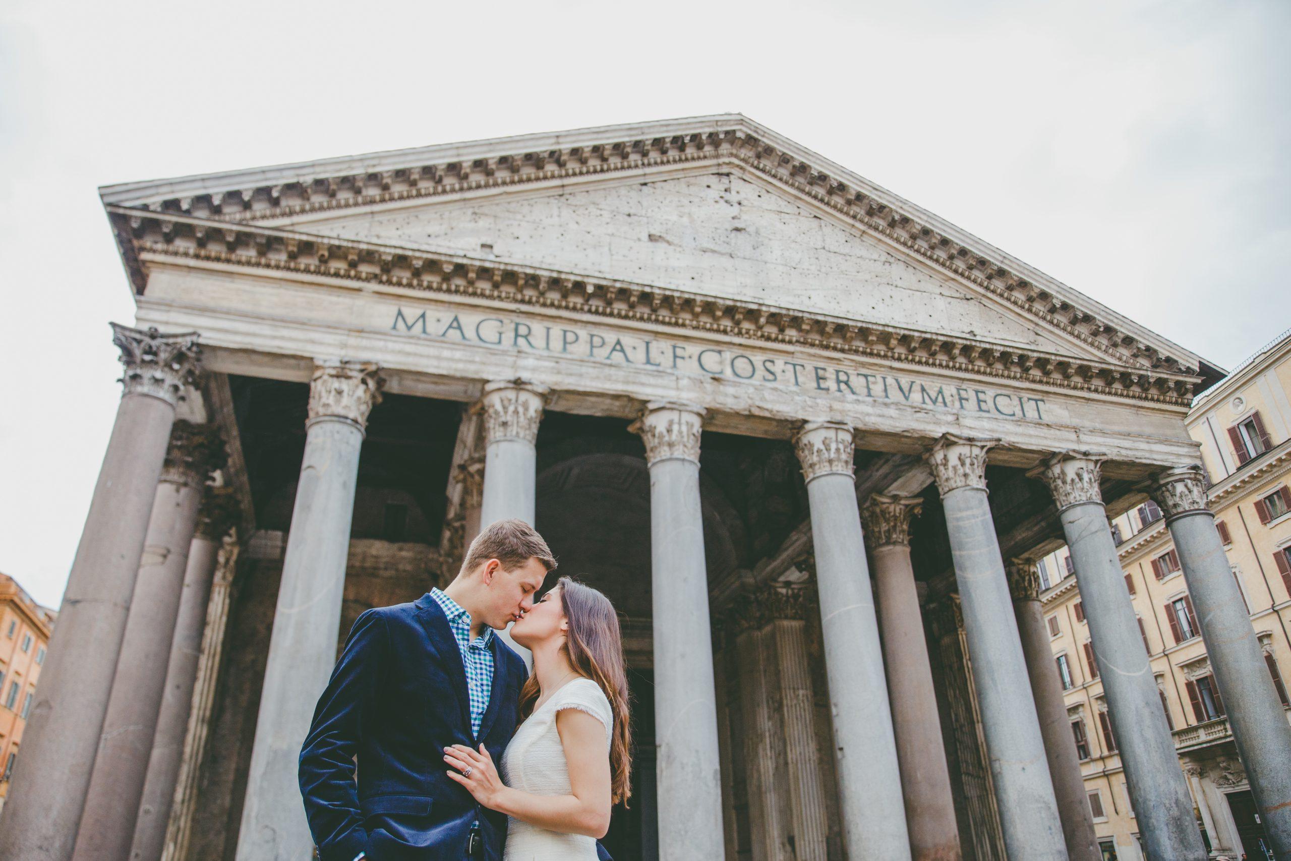 Rome wedding photographer - pantheon pictures