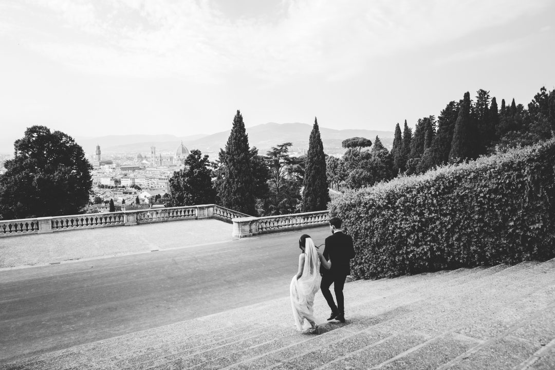 Florence wedding at Villa La Vedetta Tuscany