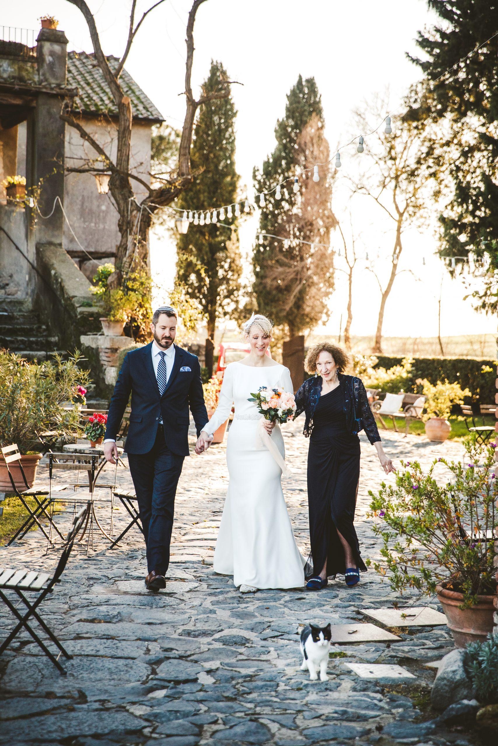 Borgo di Tragliata wedding – We love cats